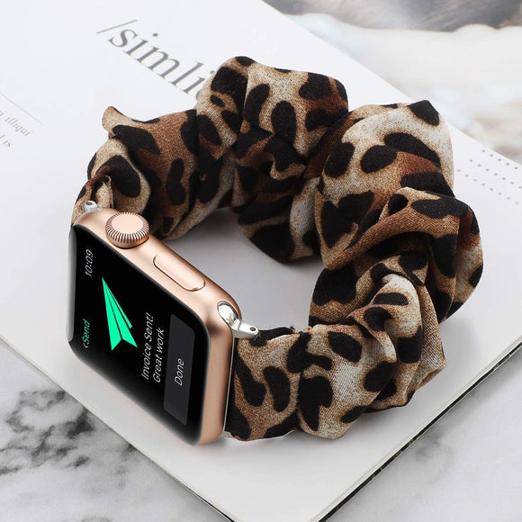 Scrunchie Elastic Strap for Apple Watch (Styles Group 1)