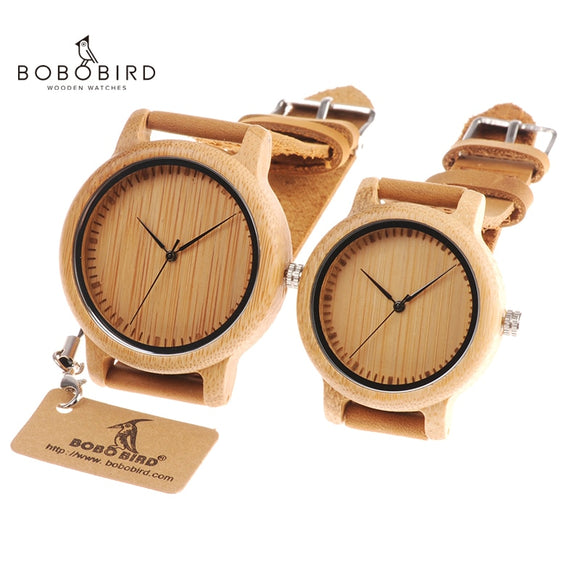 BOBO BIRD Couples Wood Watches