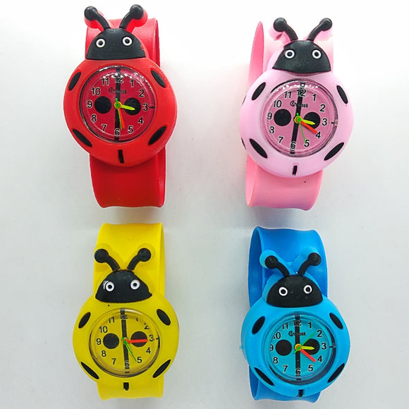 Cartoon Ladybug Children Watch