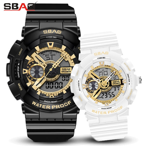 SBAO Couples Fashion Lovers Digital Watch