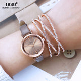 IBSO Women's Crystal Bracelet Watch