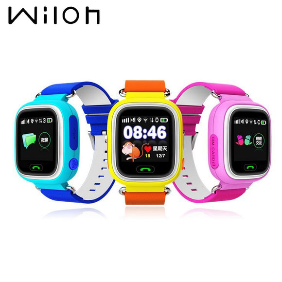 Kids GPS Tracker Touch Screen SmartWatch