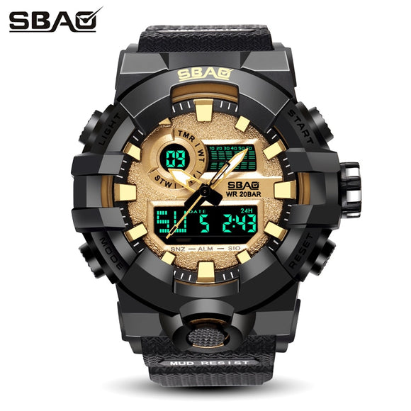 TOP Brand Men's Digital Sport Military Watch