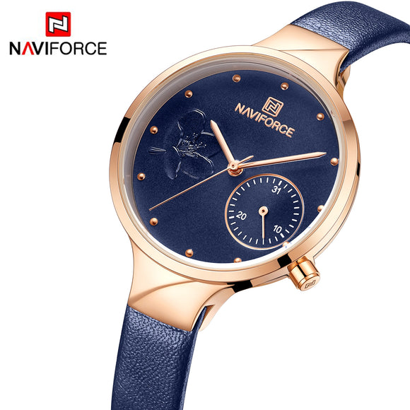 NAVIFORCE Flower Petal Dial Watch