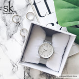 SK Super Slim Mesh Stainless Steel Watch