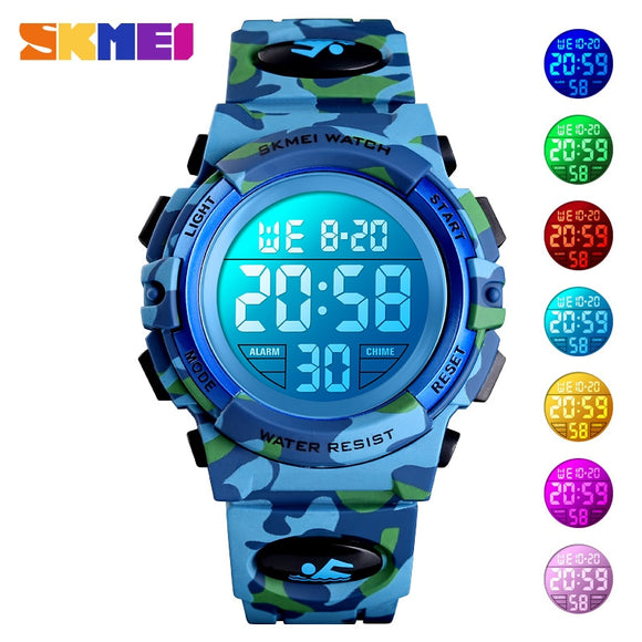 SKMEI Military Kids Sport Watch