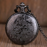 Vintage Christmas Theme Pocket Watch