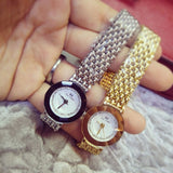 Women's Luxury Quartz Diamond Gold Watch