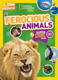 National Geographic Kids Ferocious Animals Super Sticker Act