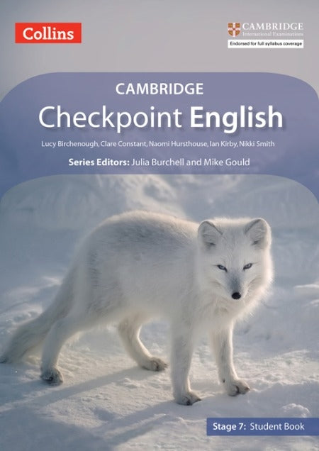 Collins Cambridge Checkpoint English Student Book Stage 7