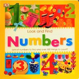 DK Look And Find Numbers