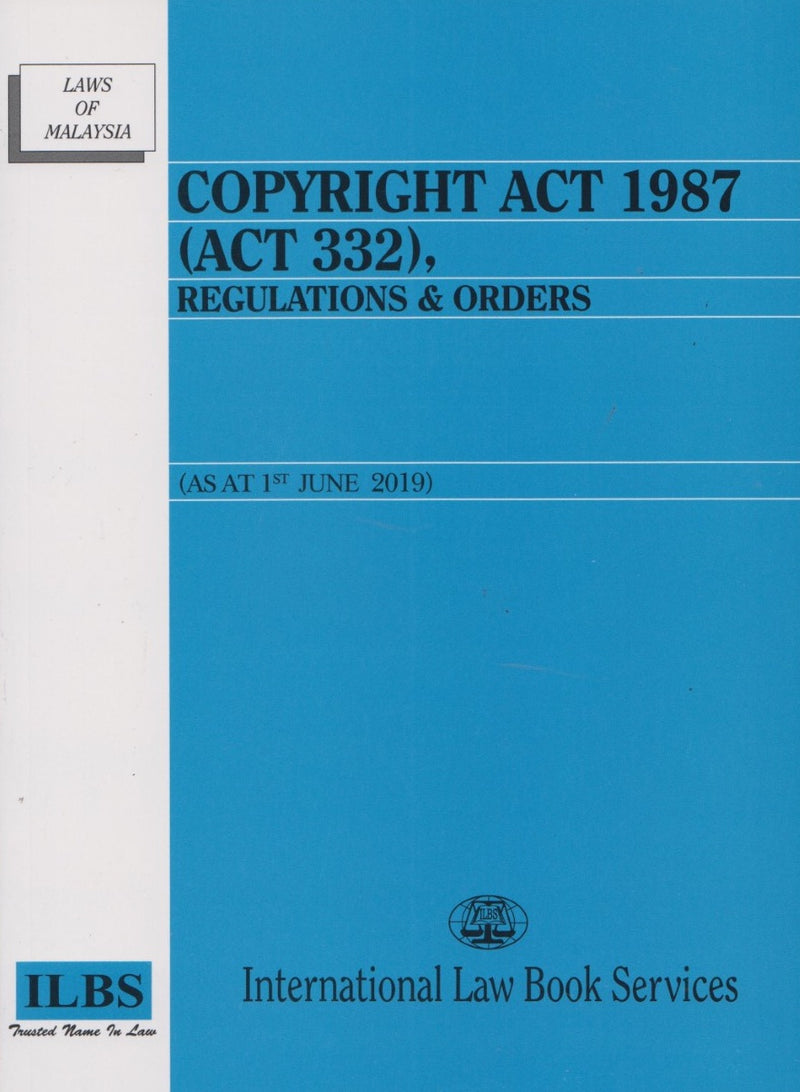 Copyright Act 1987 (Act 332), Regulations & Orders