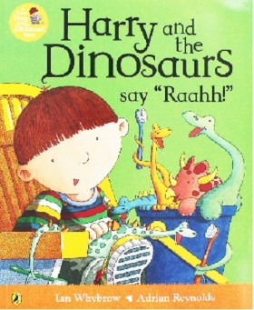 "HARRY & THE DINOSAURS SAY ""RAAHH!"""