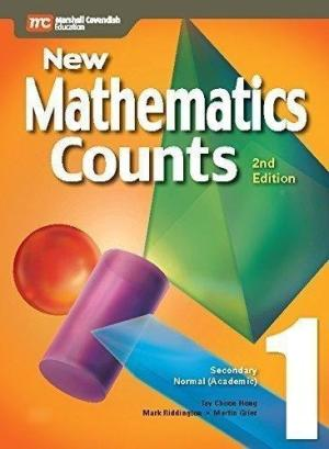 Secondary 1 New Mathematics Counts Textbook 2nd Edition