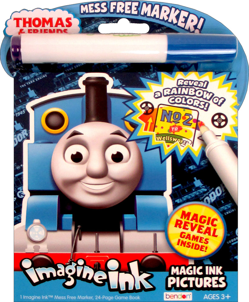 Thomas & Friends: Imagine Ink: Magic Ink Pictures with Mess-Free Marker