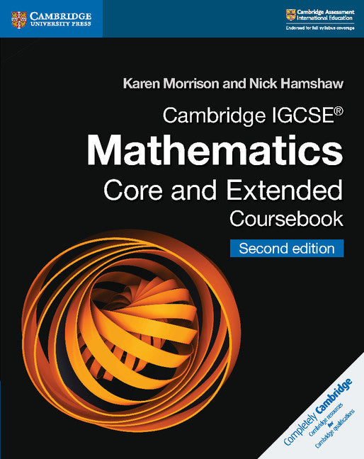 Cambridge Igcse Mathematics Coursebook Core And Extended 2nd
