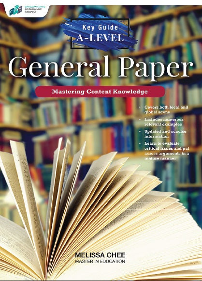 KEY GUIDE A-LEVEL GENERAL PAPER MASTERING CONTENT KNOWLEDGE