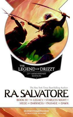 Legend Of Drizzt 25th Anniversary Ed Bk 3