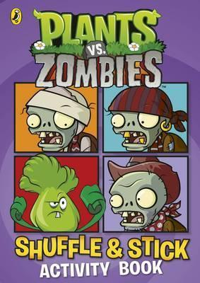 Plants Vs Zombies: Shuffle & Stick Activity Book