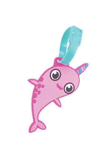 MAGIC NARWHAL LUGGAGE TAG