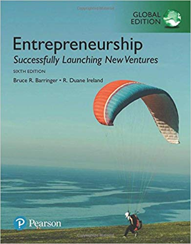 GE ENTREPRENEURSHIP: SUCCESSFULLY LAUCHING NEW VENTURES 6ED
