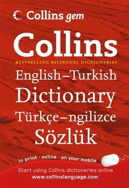 Collins Gem English-Turkish Dictionary