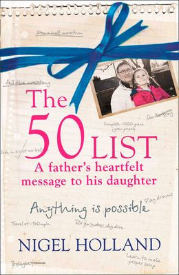 The 50 List: A Father's Heartfelt Message to His Daughter
