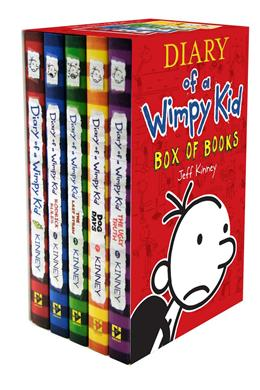 Diary of a Wimpy Kid Box Set (5 books)