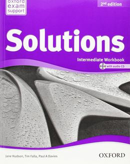 Solutions 2nd Edition Intermediate Workbook with Audio CD