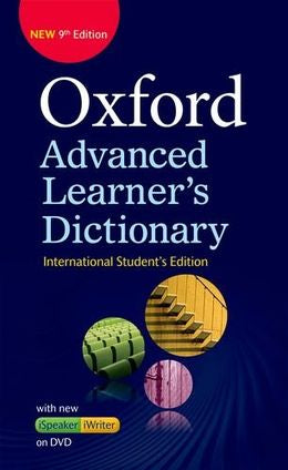 Oxford Advanced Learners Dictionary with DVD, 9E ISE