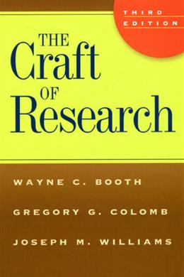 The Craft of Research, 3E