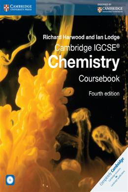 Cambridge IGCSE Chemistry Coursebook (with CD-ROM), 4th Edition