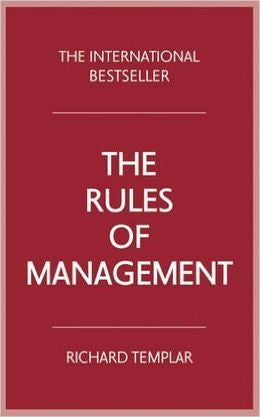 THE RULES OF MANAGEMENT 4 ED