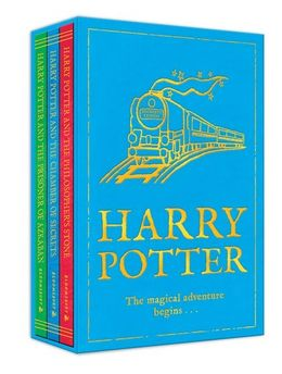 Harry Potter: The magical adventure begins . . . Volumes 1-3