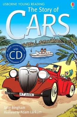 The Story Of Cars (Usborne Young Reading Series 2) With Cd