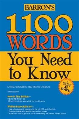 1100 Words You Need to Know, 6E