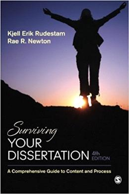 Surviving Your Dissertation: A Comprehensive Guide to Content and Process 4th Edition