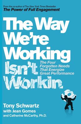 The Way We`re Working Isn`t Working