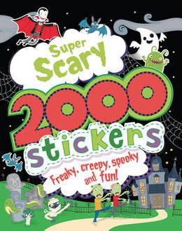 2000 Spooky Stickers: Super Scary