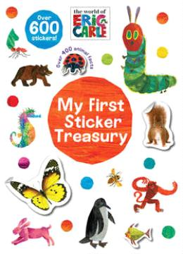 The World Of Eric Carle My First Sticker Treasury
