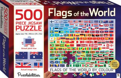 Flags of the world 500 Piece Jigsaw Puzzle