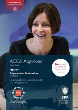 ACCA F4 (Text) Aug 2018 Corporate & Business Law (Global)