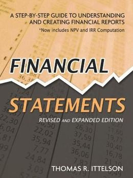 Financial Statements (Revised And Expanded)