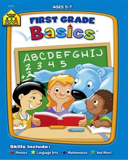 SCHOOL ZONE FIRST GRADE BASICS