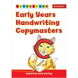 Letterland Early Years Handwriting Copymaster