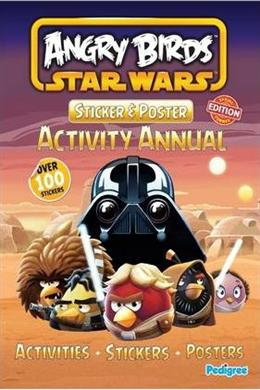Angry Birds Star Wars Sticker & Poster Spring 2013