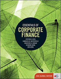 Essentials Of Corporate Finance Age 8th ed