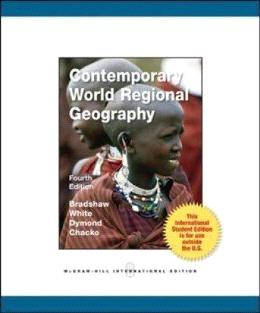 Contemporary World Regional Geography ( 4th International Edition )