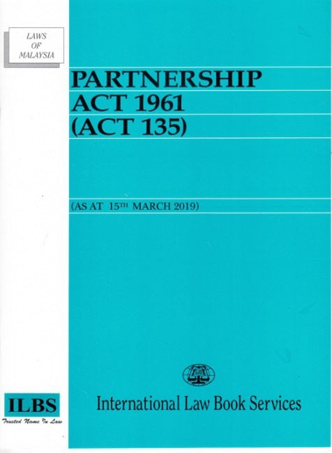 Partnership Act 1961 (ACT 135)