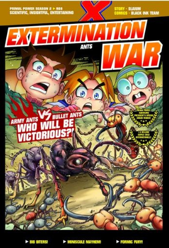 X-VENTURE PRIMAL POWER II: EXTERMINATION WAR (LEARN MORE)